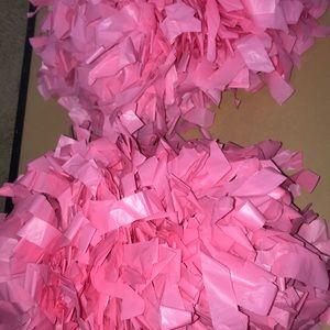 Other - Pink pom poms